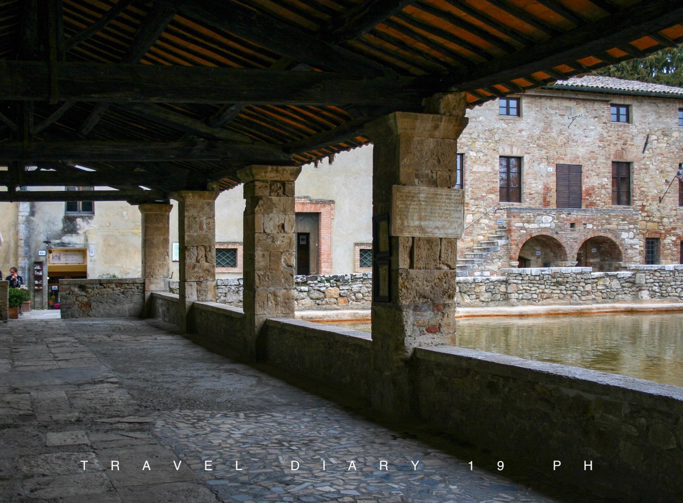 I portici di Bagno Vignoni