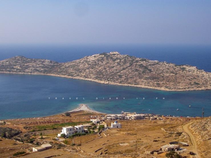 Agios Pavlos e l'isola di Nikouria