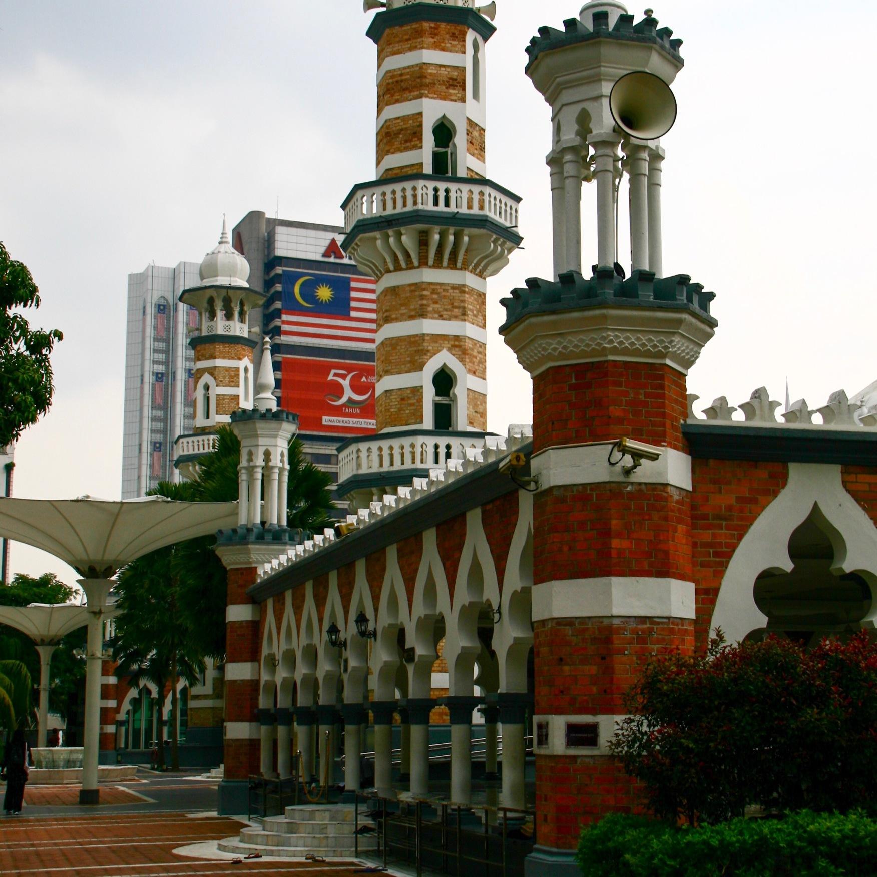 Moschea nel quartiere islamico di Kuala Lumpur