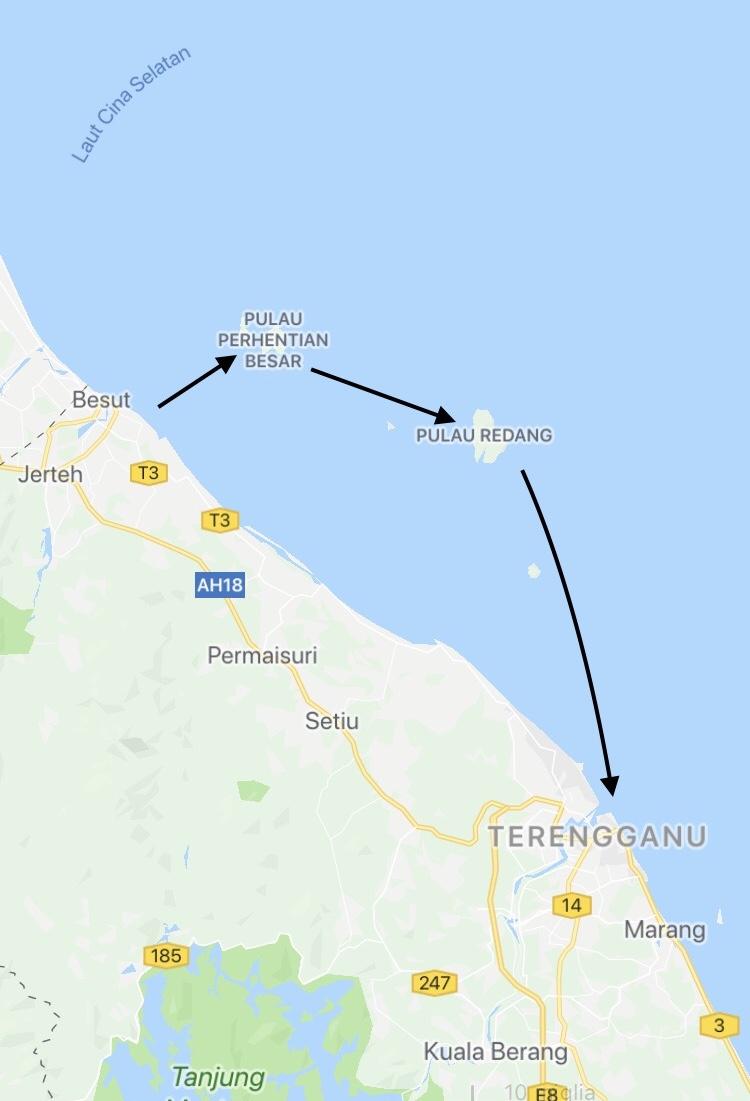 Itinerario per le isole Perhentian e Redang