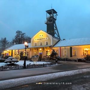 Ingresso delle miniere di sale di Wieliczka, vicino a Cracovia