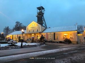 L'ingresso delle Miniere di sale di Wieliczka vicino a Cracovia