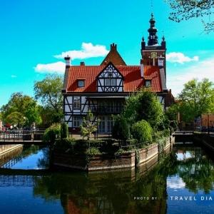 a Danzica, o Gdansk, in Polonia, durante un mio viaggio in solitaria