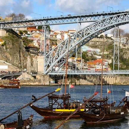 Il ponte Dom Luis di Porto, durante un mio viaggio in solitaria