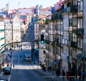 La pendenza delle strade di Porto