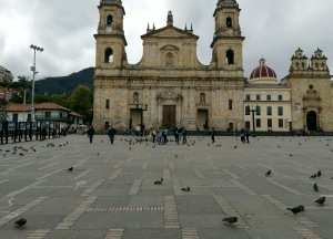 Piazza in Colombia