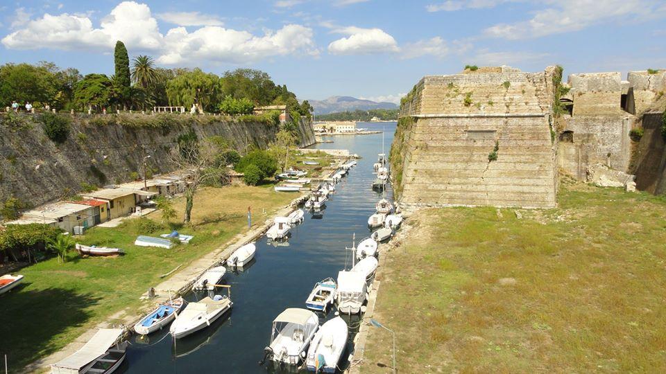 Canale a Corfu, Grecia