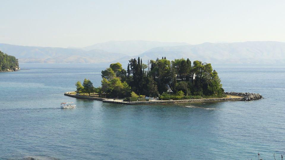 Isola a Corfu, Grecia