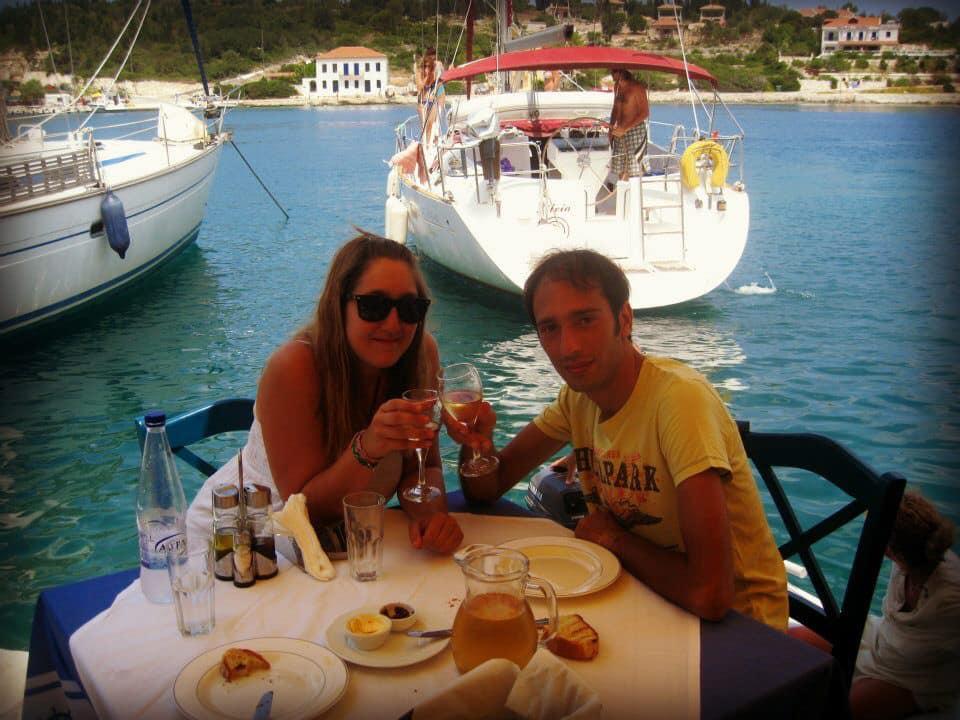 Martina e Flavio a pranzo
