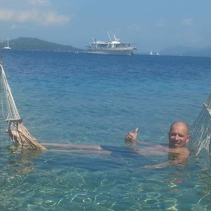 Gianluca si rilassa alle Ionie