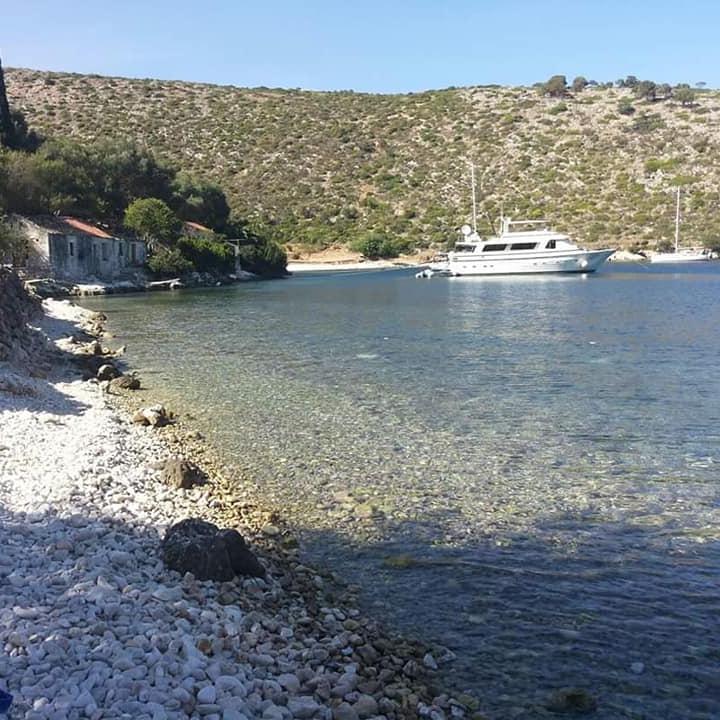 Il verde mare greco