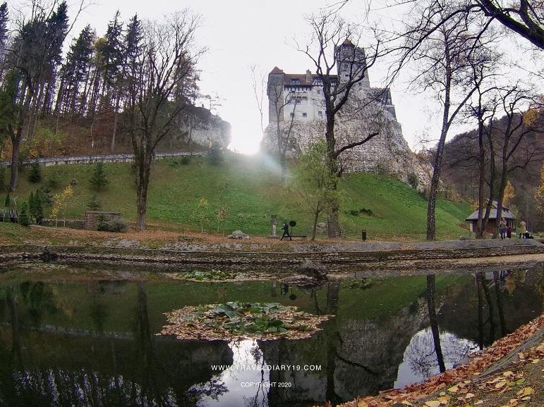 Il castello di Dracula, a Brasov in Transilvania