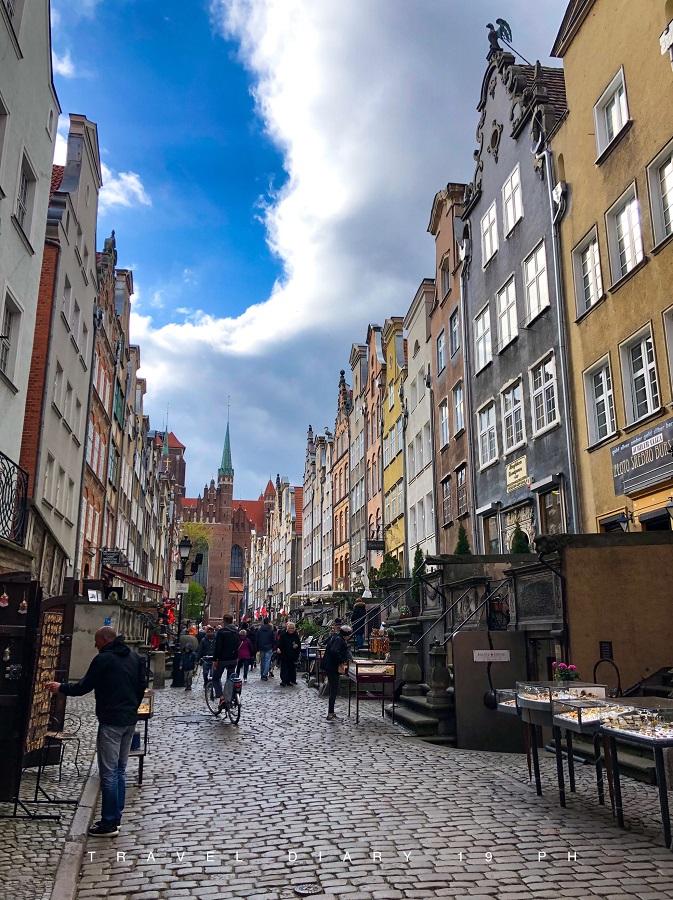 Danzica, mercatino Mary Street