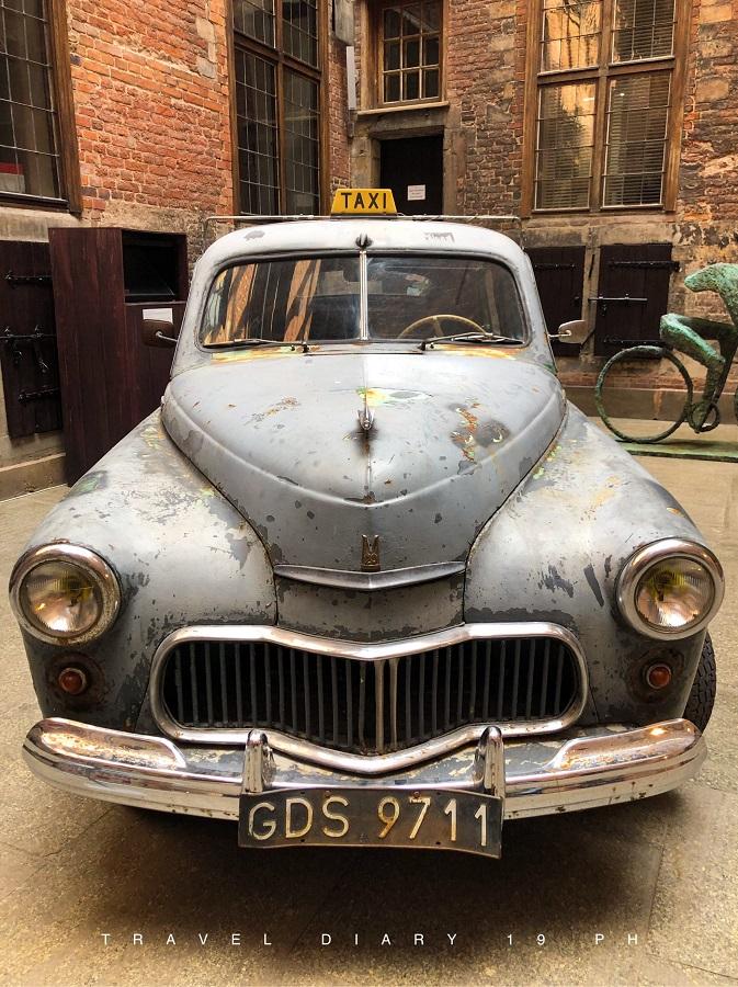 Danzica, taxi museo