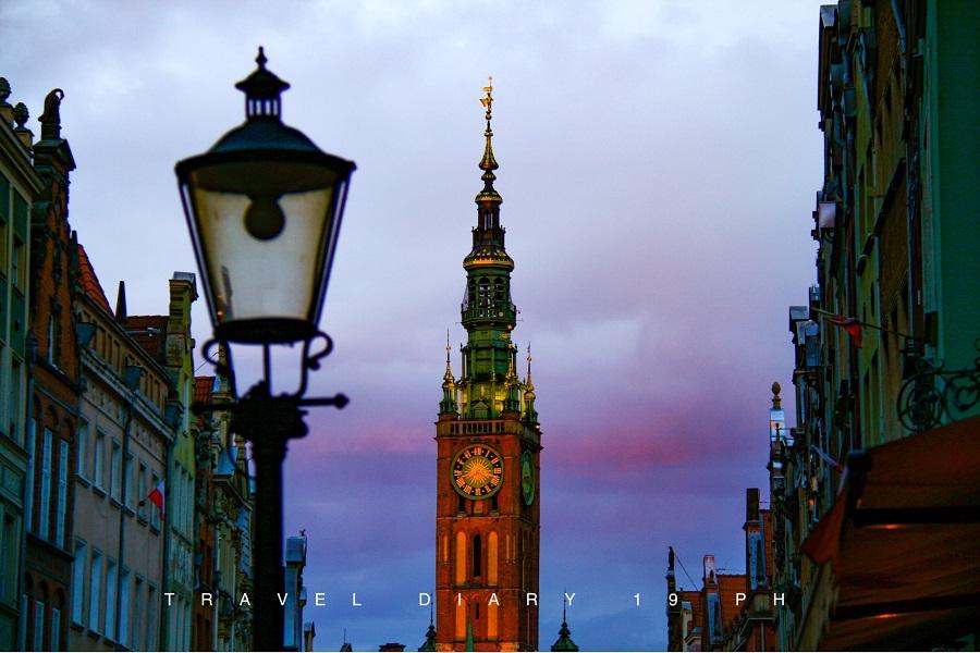 Danzica, la torre del municipio