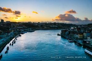 Il fiume Douro a Porto