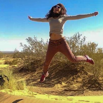 Chicca nel deserto