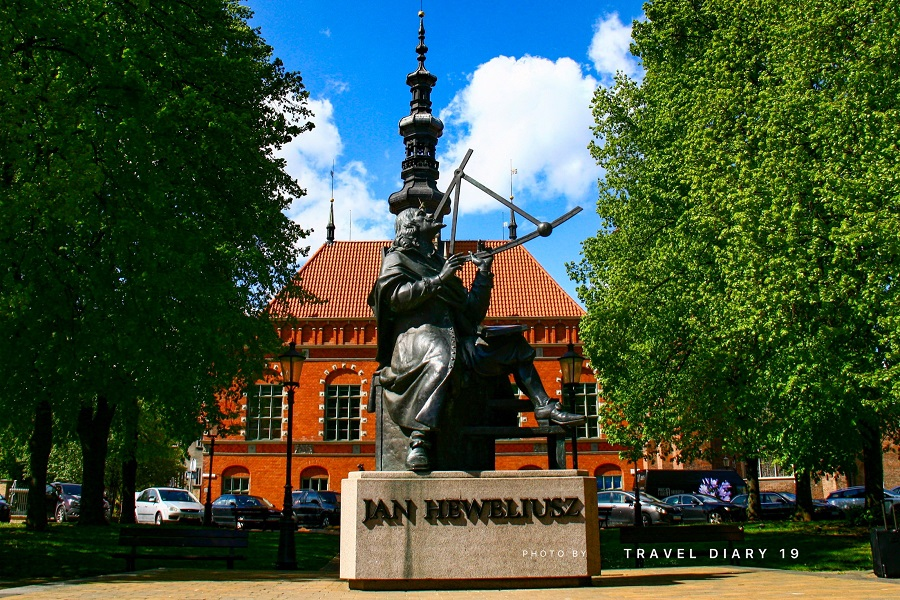 Danzica, statua