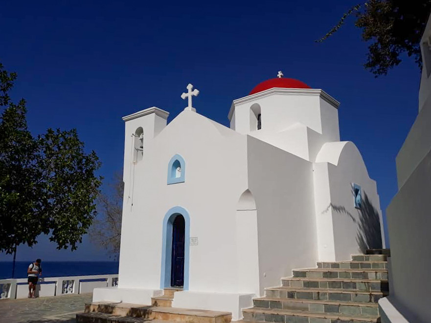 Chiesa di Karpathos nel Dodecanneso