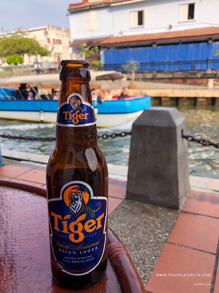 Tiger beer in Malacca