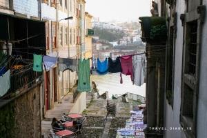 Vicoli della Ribeira a Porto