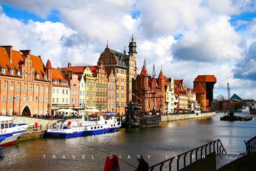 Gdansk, la Motlawa