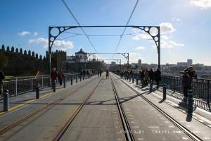 Sul ponte a Porto