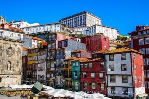 Case colorate a Porto