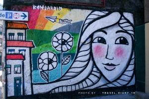Murales a Oporto