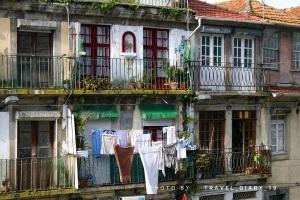 Balconi della Ribeira a Oporto