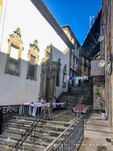 Vicoli della Ribeira a Oporto