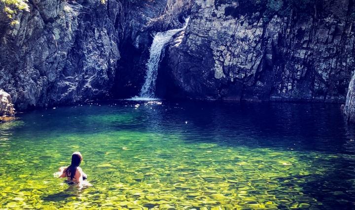 Una piscina naturale da scoprire a Samotracia